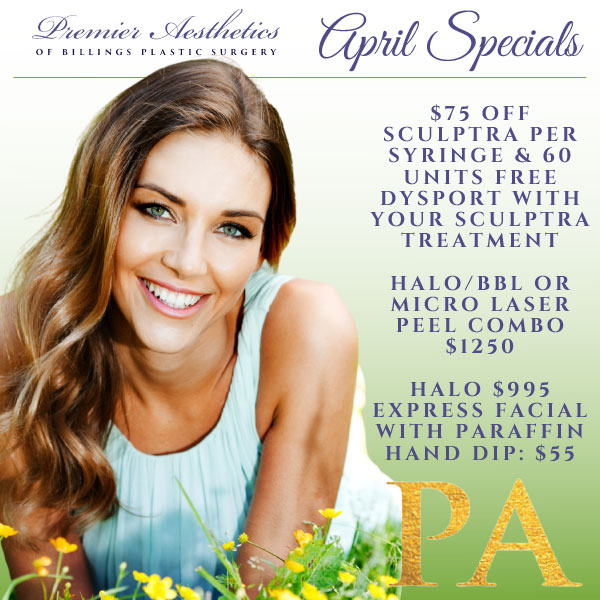 April Premier Aesthetics Ad