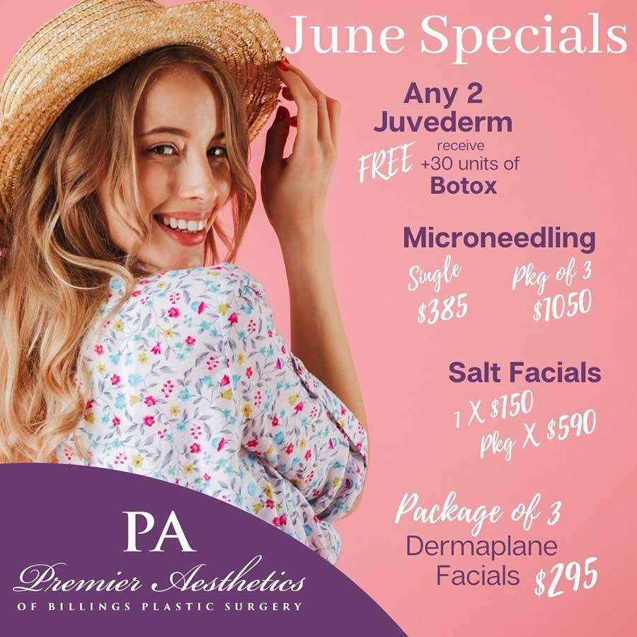 June Premier Aesthetics Specials
